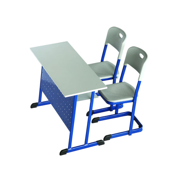 2 seater classroom desk chair scholar 2s