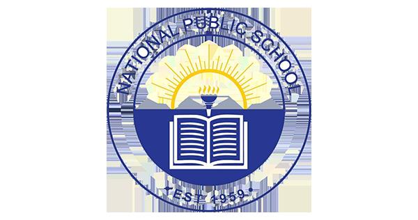 National public school logo
