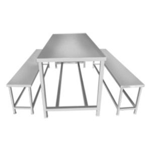 canteen dining furniture table bench buffet
