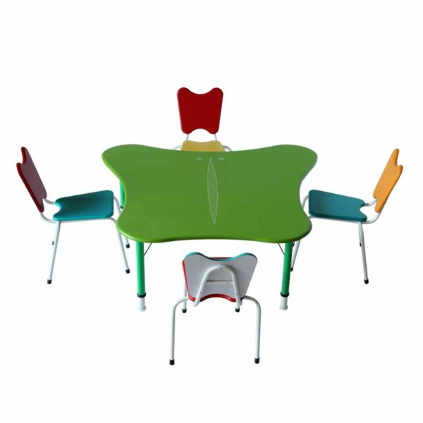 childrens playschool table butterfly 1