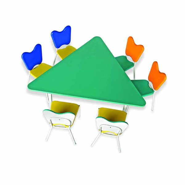 childrens playschool table trio 2