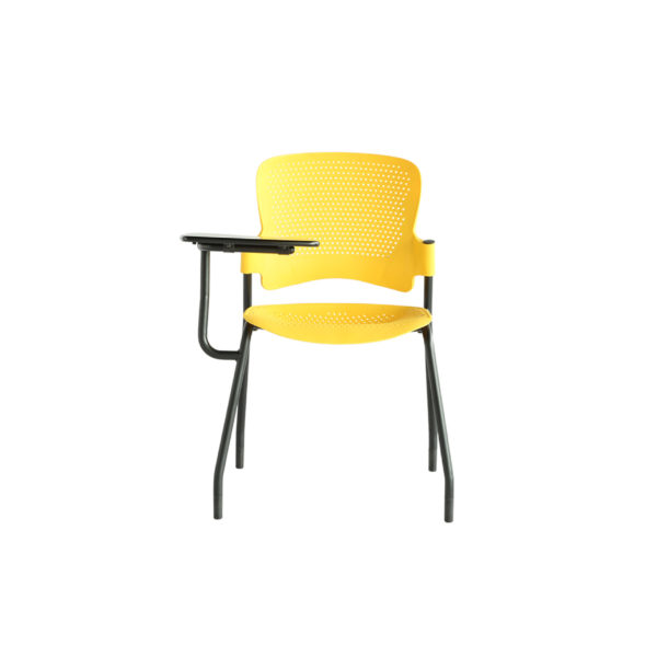 classroom study chair writing pad vinus hp 1