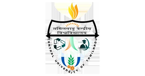 Logo of Central university of tamilnadu