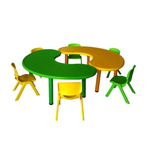early childhood kids table bean 1