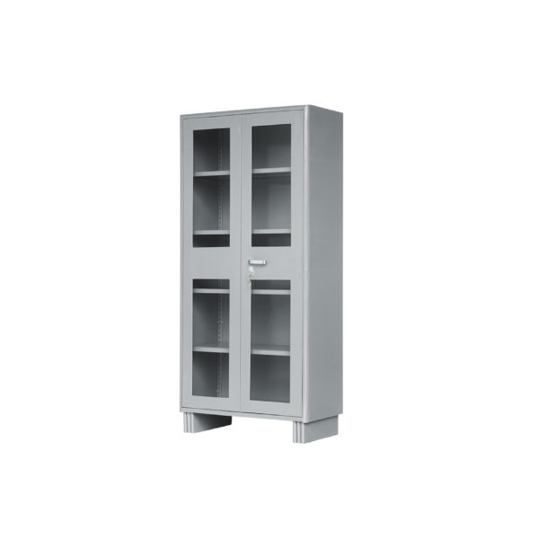 library glass door cupboard visual scaled