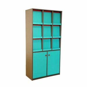 library shelf index