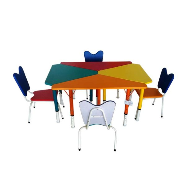 playschool table mixed set 2