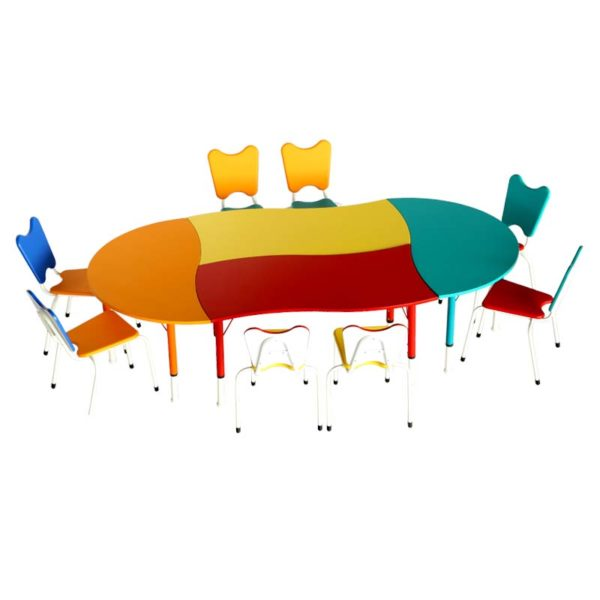 playschool table mixed set 3