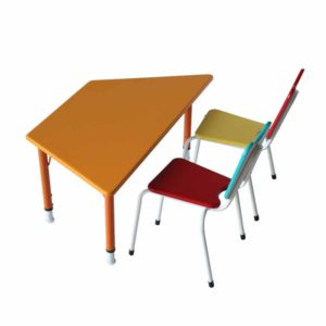 playschool trapezoid table 1