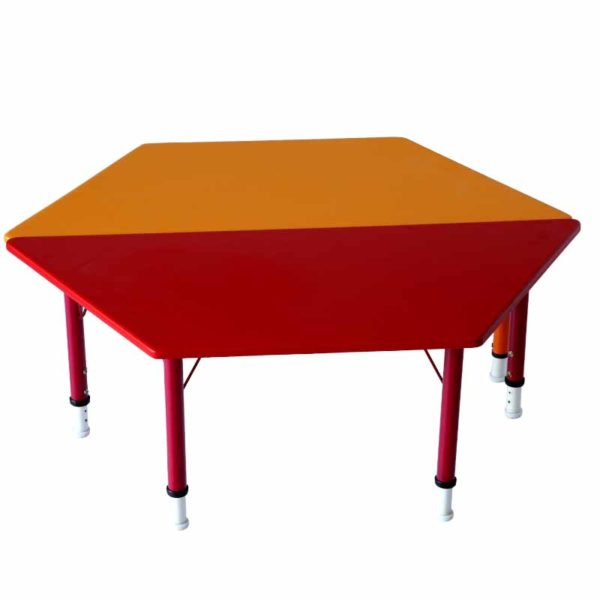 playschool trapezoid table 2