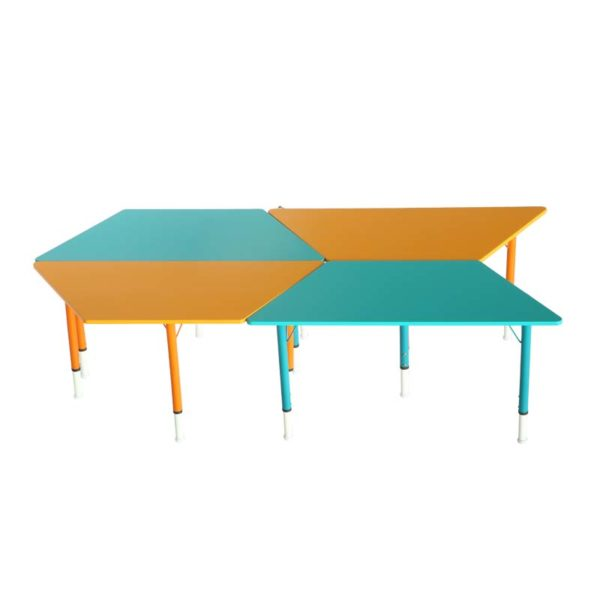 playschool trapezoid table 3