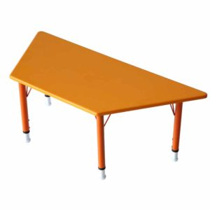 playschool trapezoid table
