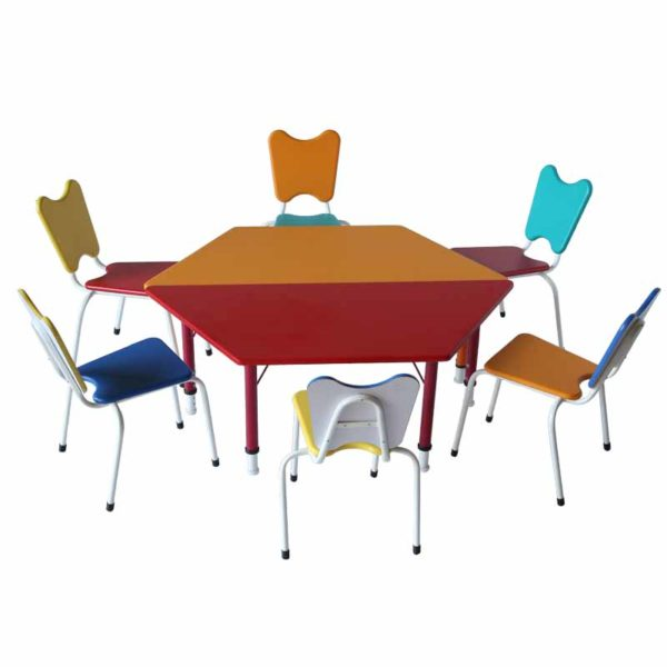 playschool trapezoid table 5