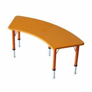 preschool curved table kudo 02