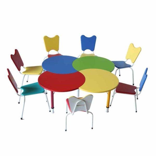 preschool furniture quartet table 3