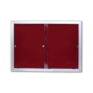school classroom expo sliding glass door board