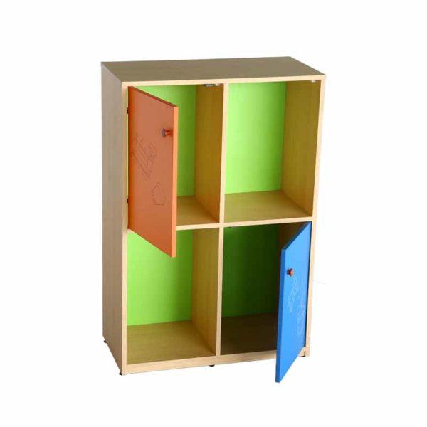 school multi colour storage cabinet ride 1