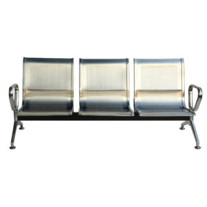 school reception visitor seating stainless steel 3s
