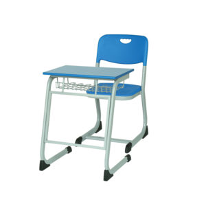 single seater school bench with book shelf distinct s