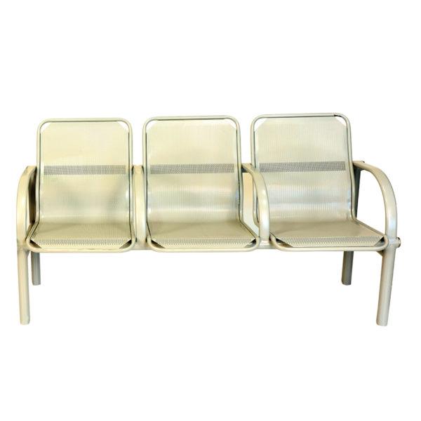 steel school visitor seating boarding 3s