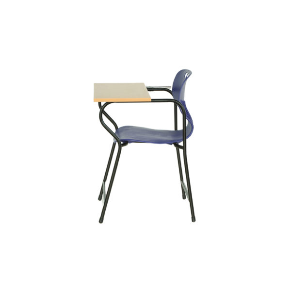 student chair writing pad plasto fp 2