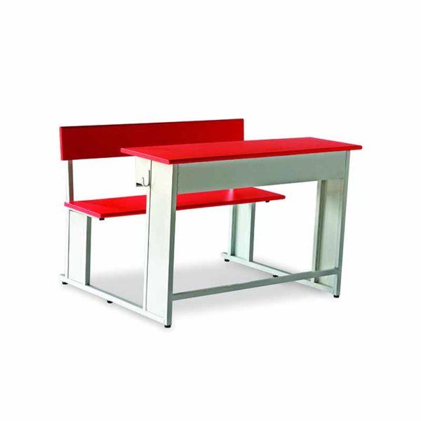 two seater classroom bench desk braino 2s