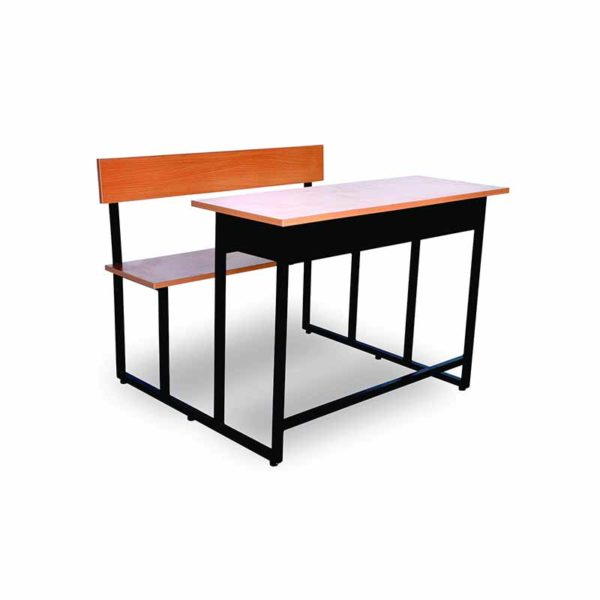 two seater classroom bench desk eco 2s