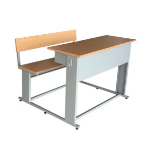 two seater classroom desk excello 2s