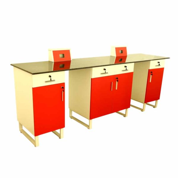 wall side table school lab furniture diaode