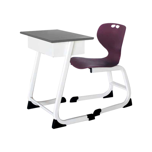 single seater student desk chair solo without bg removebg