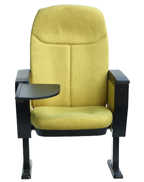 Comfortable Single Seater Auditorium Chair With Arm Rest