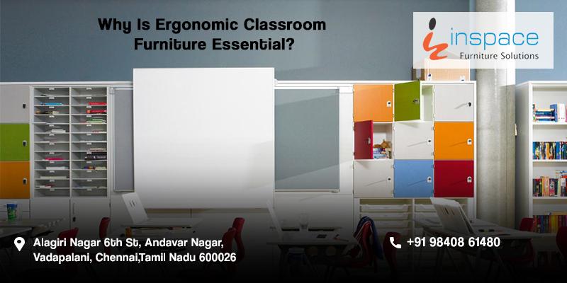 Ergonomic Classroom Furniture For School